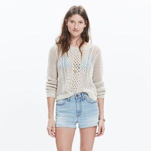Madewell Summerstitch Sweater - size xxs